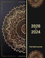 5 Year Planner 2020 - 2024: Flower 5 Year Planner Calendar Book 2020-2024 Size 8.5 x 11 Inch