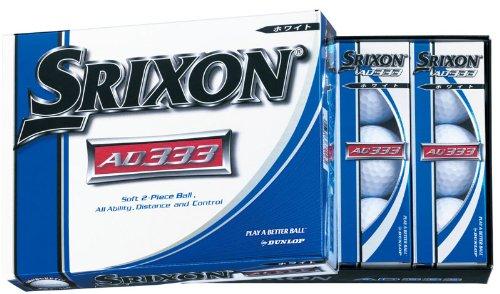 DUNLOP(ダンロップ) ゴルフボール SRIXON スリクソン AD333-6・・・