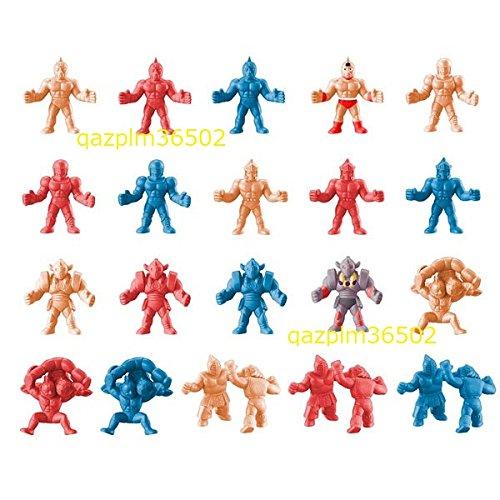キン肉マン キンケシ02 6種3カラー+2種フルカラー 全20種フルコンプセット キン消し フルカラー 赤青ペールオレンジ肌