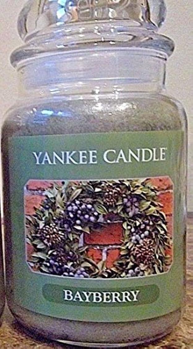 畝間忌み嫌う裏切るYankee Candle Large Bayberry Jar Candle
