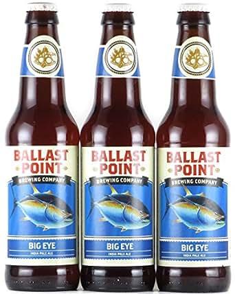 バラストポイント ビッグアイ インディアペールエール 瓶 355ml×3本 クラフトビール