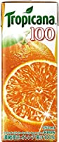 キリン トロピカーナ 100%ジュース オレンジ 紙パック250ml×24本入【×2ケース:合計48本】