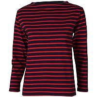 [ セントジェームス ] Saint James ウェッソン ギルド 長袖 ボーダー バスクシャツ ボートネックシャツ GUILDO OUESSANT メンズ レディース カットソー