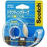 3M スコッチ ドラフティングテープ 小巻 D-12 12mm