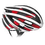 rh+(アールエイチプラス) ヘルメット ZY [ゼットワイ] マットホワイト/ブリッジマットレッドL/XL (58-62) ヘルメット 290g JCF公認 EHX6055 48