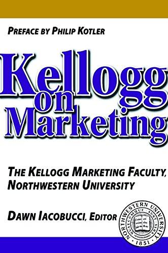 Download Kellogg on Marketing 047135399X