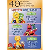 Sesame Street: Learning Triple Feature (Learning About Letters / The Great Numbers Game / Sing, Hoot & Howl) by Sesame Street