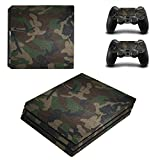 Ps4 Console Best Deals - Zhhlinyuan スキンステッカー Vinyl Decal Cover for PlayStatio PS4 Pro Console+Controllers ZY0019#