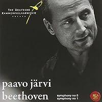 Beethoven: Symphonies Nos. 5 & 1 by JARVI / BREMEN GERMAN CHAMBER PHIL
