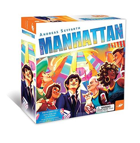 Foxmind Games Manhattanボードゲーム