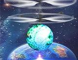 SYNC フライングボール LED ボール型 ヘリ 手のひらで簡単操作 (アース)