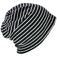 ナイトキャップ 日本製 帽子 ルームキャップ 室内帽子 おしゃれ 柔らか素材 キューティクル パサつき予防 抜け毛防止 ねぐせ 寝癖 ストライプ 縞