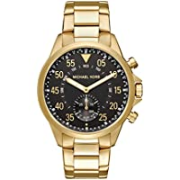 Michael Kors Men's Goldtone Gage Hybrid Watch