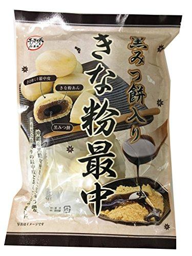 千万味の逸品 黒みつ餅入り きな粉最中 130g×6袋