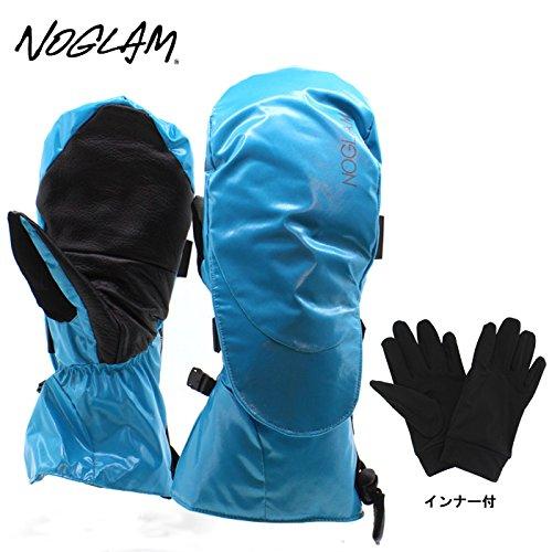 (ノーグラム)NOGLAM 2015年モデルnog-111 グローブ THE MOUNTAIN II MITTEN/BLUE SHINY 日本正規品 ミトン M