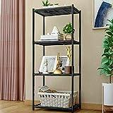 4 Tier Multi Bathroom Kitchen Storage Shower Shelf Holder Rack Organizer Iron