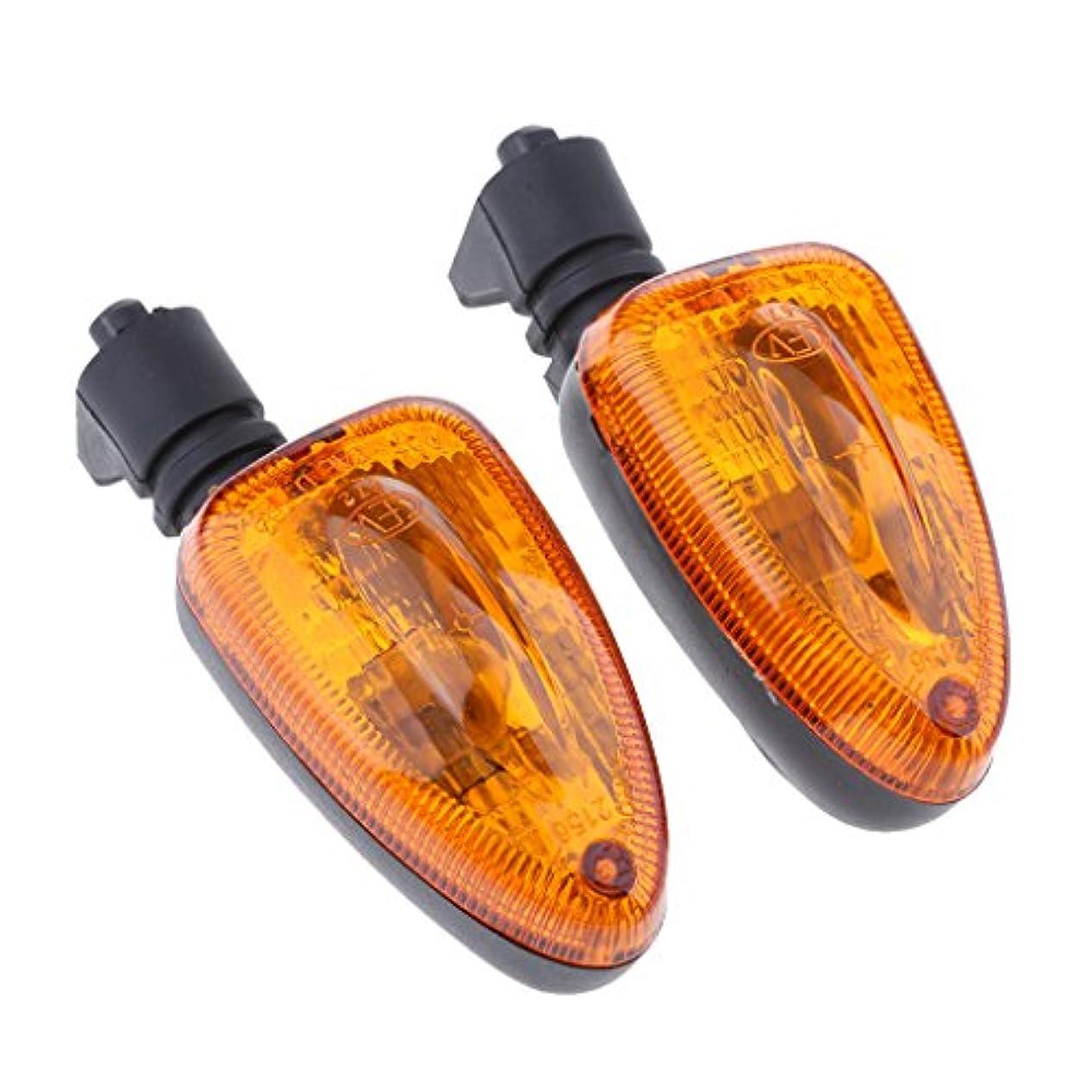 毎回体細胞したいBMW F800GS / F800R 07-08に適用 12V 6mm シグナルライト ターン インジケータライト 省エネルギー 全3色 - アンバーレンズ