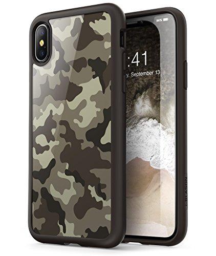 i-Blason iPhoneX ケース,iPhoneXS ケース QI充電対応 アイフォンXケース...