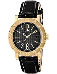 957052b7cf32 [ブルガリ]BVLGARI 腕時計 ブルガリブルガリ ブラック文字盤 BB38BGLDAUTO メンズ ...