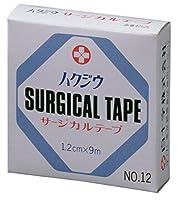 白十字 ハクジウ サージカルテープ NO.12(1.2cm×9m)