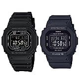 [カシオ]CASIO メンズ レディース Gショック×ベビーG ペアウォッチ デジタル デジタル タフソーラー 多機能 ブラック GW-M5610-1BJFBGD-5000MD-1JF 腕時計 [正規輸入品]