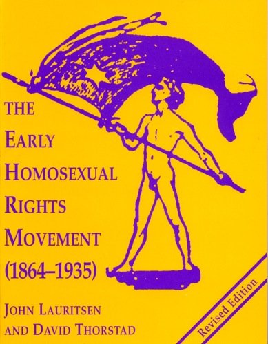 Download The Early Homosexual Rights Movement: (1864-1935) 0878100415