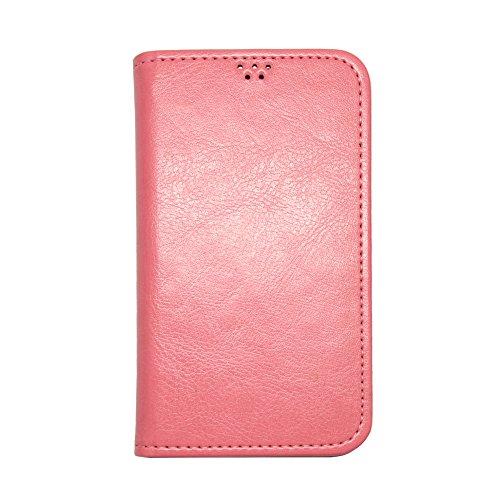 ROCOCO[samsung GALAXY S4 SC-04E SC04E ギャラクシー GALAXY4 対応 Flip Case] 手帳型ケース 全機種対応 全機種対応スマホケース 携帯ケース 機種対応 手帳型 ケース 手帳 カバー 人気 かわいい おすすめ 丈夫 収納 カード入れ フリップ 携帯 シンプル カラープール Color 人気デザイン かわいい icカード入れ Pink
