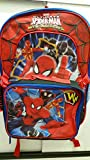 Marvelスパイダーマンweb-warriorsバックパックand Detachable Insulated Lunchバッグ