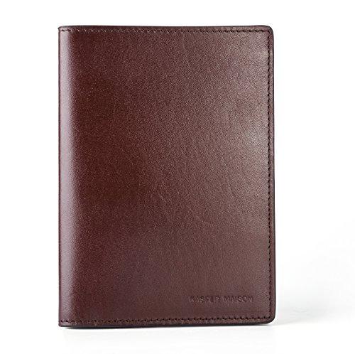 Kasper Maison イタリアンレザー パスポートケース...