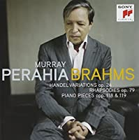 Brahms: Handel Variations by MURRAY PERAHIA (2010-11-23)