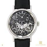 【ブレゲ】 BREGUET 腕時計 トラディション WG×レザーベルト ブラック/グレー 7057BB/G9/9W6 メンズ 【並行輸入品】