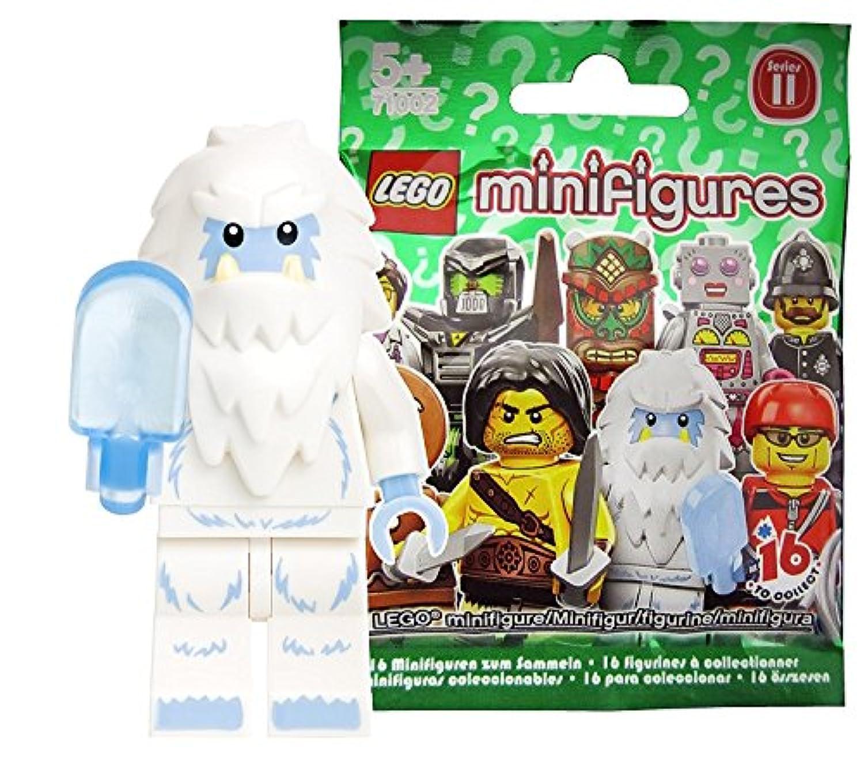 レゴ (LEGO) ミニフィギュア シリーズ11 イエティ(雪男) 未開封品 (LEGO Minifigure Series11 Yeti) 71002-8