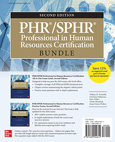 Download PHR/SPHR Professional in Human Resources Certification All-in-One Exam Guide, Second Edition 1260453111