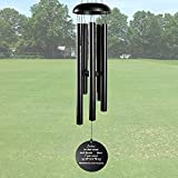 ARARTKEL Wind Chimes for Outside Deep Tone, Memorial Wind Chimes as Sympathy Gift, 32 Inch Windchimes Outdoors Decorations fo