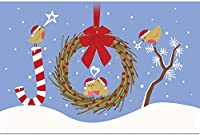 """tree-free Greetings ECOnotes 12タブレットクリスマスカードセットwith封筒、4"""" x 6、"""" Spread Joy ( 93428)"""