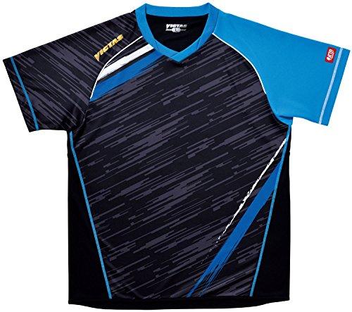 ヴィクタス VICTAS V-SW036 ゲームシャツ XXO ブルー 1枚