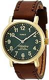[タイメックス]TIMEX ウォーターベリー ブラスアンティークフィニッシュ グリーンダイアル ブラウンストラップ TW2P58900 メンズ 【正規輸入品】