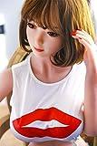158cm 中胸リアルドール 3D立体 高級TPEシリコン 人形 かわいい メタルスケルトンの女性のボディモデル 送料無料(158cm 中胸)