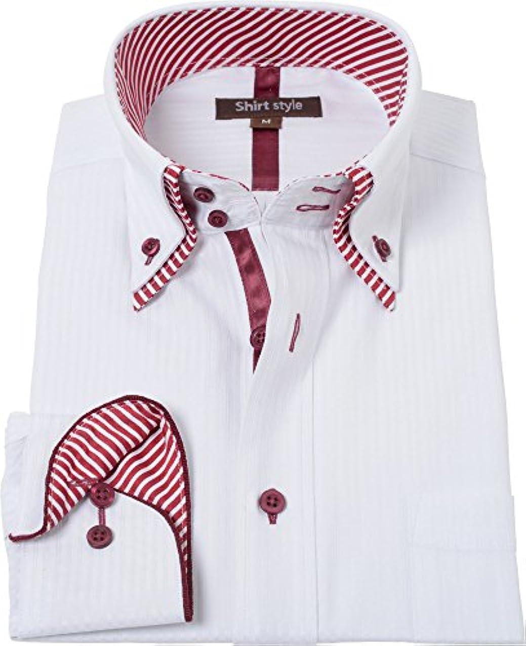 組立困惑する本質的ではないシャツスタイル(shirt style)ボタンダウンシャツ メンズ 標準 S M L LL 3L/ysh-1-037