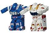 旋回バトルロボット ブラストファイター 2体対戦セット [ブルー&ホワイト]
