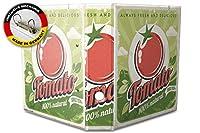 バインダー 2 Ring Binder Lever Arch Folder A4 printed Tomato vintage