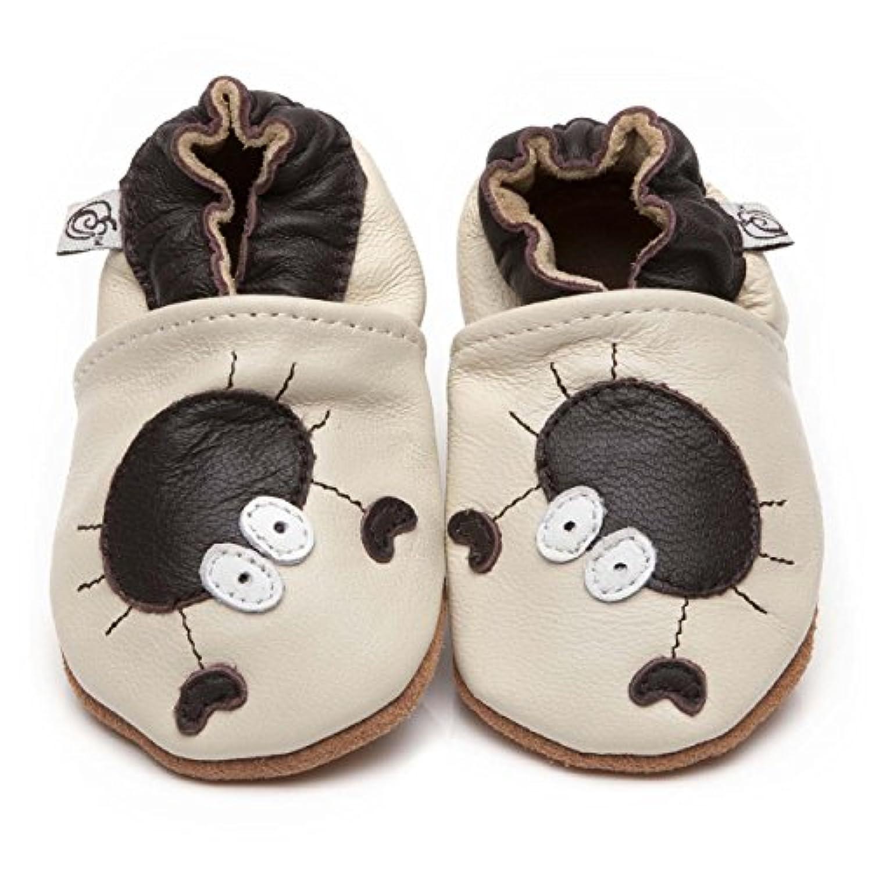 Soft Leather Baby Shoes Crab [ソフトレザーベビーシューズカニ] 12-18 months (13.5 cm)