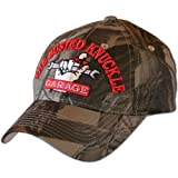 Busted Knuckle Garage BKG-CAMO Camo BKG Hat with Raised Embroidery [並行輸入品]