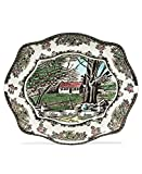 Johnson Brothers Friendly Village Bless This House Bread Tray, 12-Inch [並行輸入品]