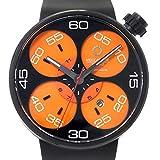 メカニケヴェローチ Meccaniche Veloci クアトロヴァルヴォレ W127K283 メンズ 腕時計 デイト ブラック 【中古】 90064221 [並行輸入品]