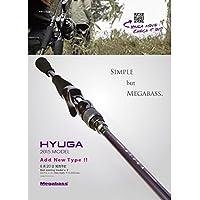 メガバス(Megabass) ロッド HYUGA(ヒューガ)  72H