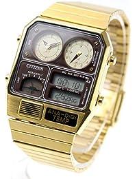 [シチズン]CITIZEN アナデジテンプ ANA-DIGI TEMP 復刻モデル 腕時計 ゴールド JG2103-72X