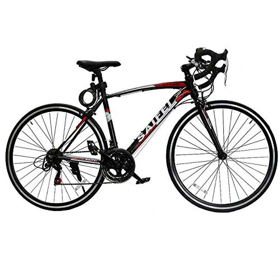 ピットクリーム不毛のHK martロードバイク700C スポーツバイク シマノ14段変速 2箇所ブレーキシステム搭載 LEDライト付き 超軽量高炭素鋼フレーム自転車 01