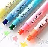 jxtzパック6個キュートクールノベルティキャンディ色のソリッドJelly蛍光ペンペンのOffice School Supplies学生子供ギフト