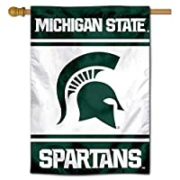 Michigan State Spartans Two Sided and Double Sided House Flag